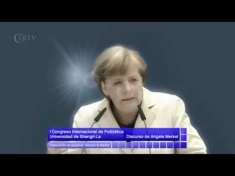 Angela Merkel, poeta del absurdo
