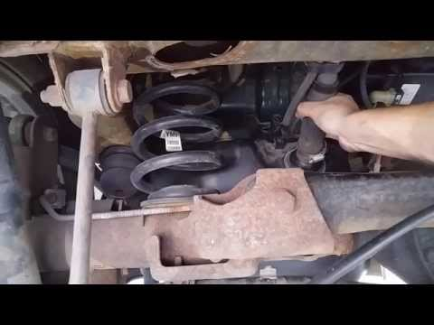 06 Chevy Tahoe remove gas tank and replace fuel pump; step by step