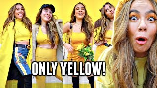 I WORE ONLY BRIGHT YELLOW To School/Work For A Week