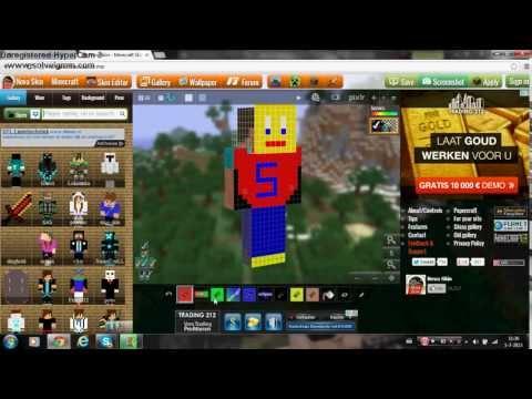 Minecraft hoe maak je je eigen skin (DUTCH)
