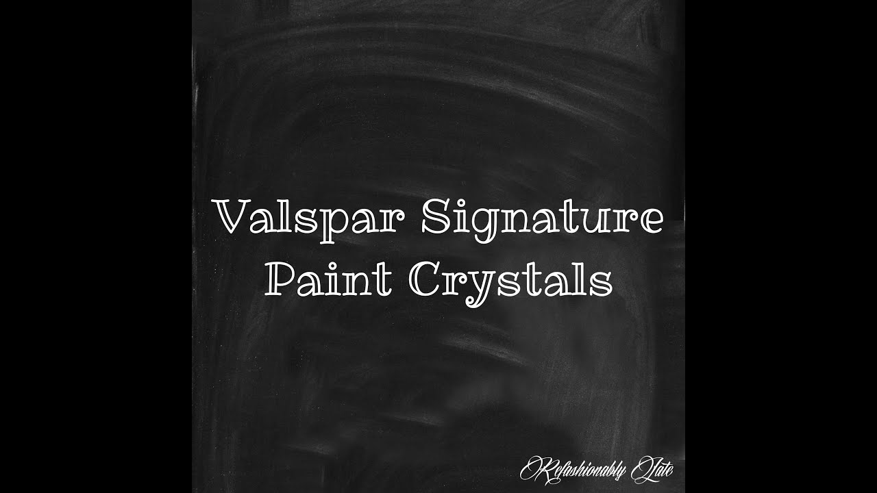 Valspar Signature Paint Valspar Signature Paint