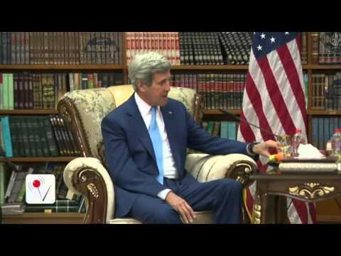 John Kerry Makes Surprise Visit to Iraq