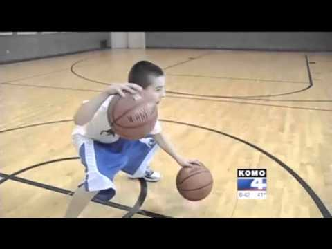 12-year old Jordan McCabe basketball prodigy and phenom on KOMO News Seattle Little Heroes