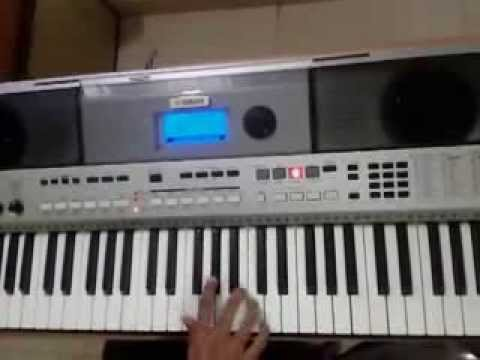 Nagada Sang Dhol Baje On Keyboard Yamha Psr I455 video