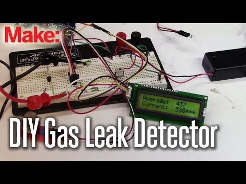 Projects With Ryan Slaugh: DIY gas LeakDetector