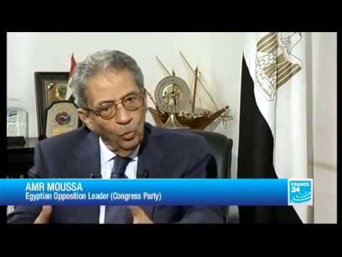 Amr Moussa, Egyptian Opposition Leader - THE INTERVIEW - 07/16/2013