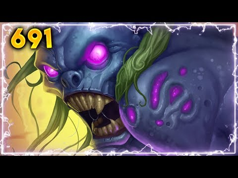 NEVER LUCKY..   Hearthstone Daily Moments Ep. 691