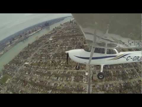 Cessna 172 Scenic Flight @ Windsor/Essex Ontario