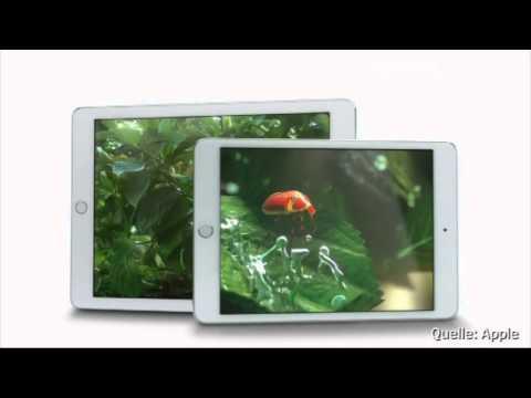 Apple stellt neue iPads vor: Schneller, dünner, schärfer