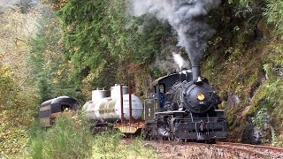 Steam on the Oregon Coast Scenic Railroad