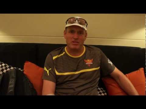 Coach Tom Moody's interview after the 1st SunRisers' team practice