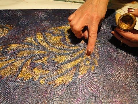 Трафареты для штукатурки своими руками