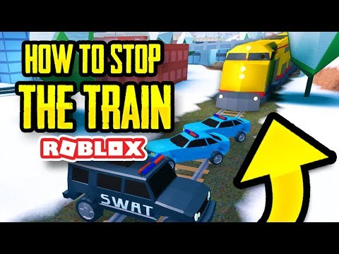 HOW TO STOP THE TRAIN IN JAILBREAK (Roblox)