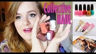 Collective HAUL: BB Creams, Nail Polishes & More