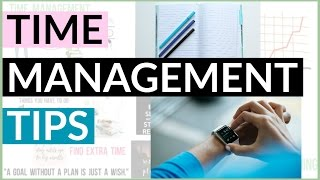 3 Time Management Tips for Students | How to Manage Your Time Better