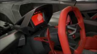 Lamborghini Sesto Elemento in detail with comment