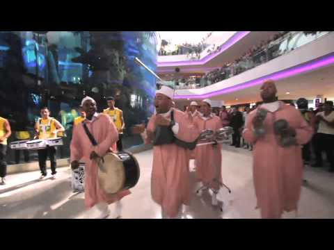 Flashmob SAAD LEMJARRED au Morocco Mall