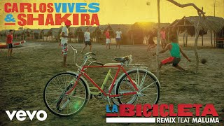 Carlos Vives, Shakira - La Bicicleta ((Remix)[Cover Audio]) ft. Maluma
