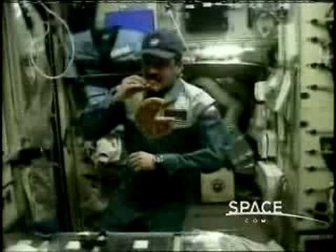 Space.com Pizza Hut Delivery to International Space Station