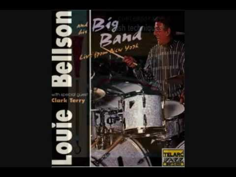 Mundell Lowe KCET Jazz in the Round 1970 (For Louie) Louie Bellson / Solo
