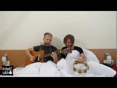 Two Gallants - Broken Eyes - acoustic for In Bed with at Appletree Garden Festival 2012