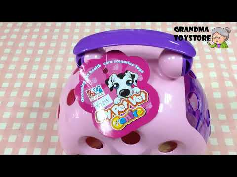 Unboxing TOYS Review/Demo - Disney Cute Puppy Dog Doctor Kit - take care of your favorite pet