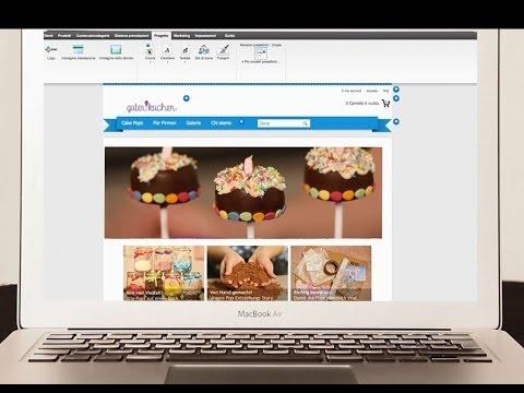 Aruba e-commerce DEMO