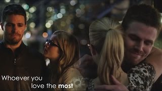 Oliver & Felicity || Whoever you love the most [s1 - s3] [TAAC]