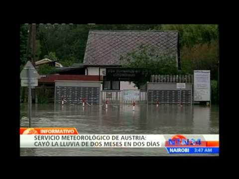 Desbordamientos e inundaciones dejan al menos 14 muertos en Europa