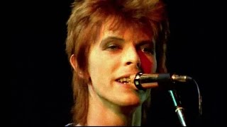 David Bowie Starman Live 1972 Rare Footage 2016 Edit