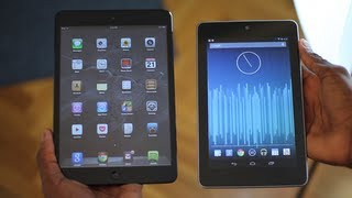 iPad Mini vs Nexus 7!