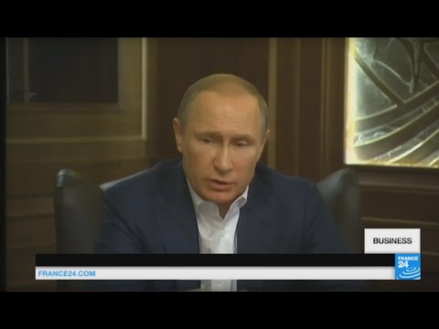 "Russia: Vladimir Putin admits Western economic sanctions ""severely"" harmed the Russian economy"