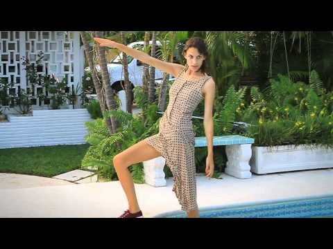 Superga SS12 Miami Photoshoot featuring Alexa Chung