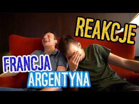 Reakcje Na Meczu Argentyna - Francja! Było Zabawnie