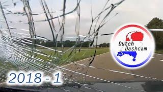 Dashcam compilatie Nederland 2018 #7