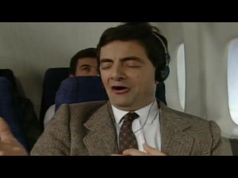 Mr Bean repülőn