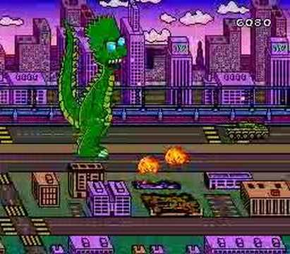 SNES The Simpsons: Bart's Nightmare
