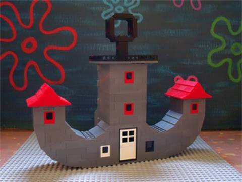 bikini bottom buildings - photo #13