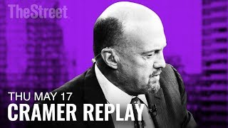 Jim Cramer on Cisco, Walmart, World Wrestling Entertainment and PayPal