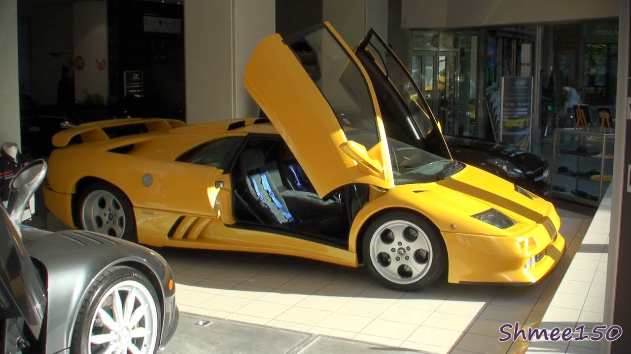 Lamborghini Diablo Se30 Jota Edition 30th Anniversary Special Edition Youtube