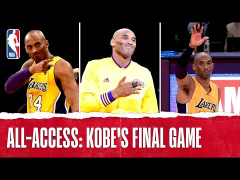 Inside Access: Kobe's Final Game