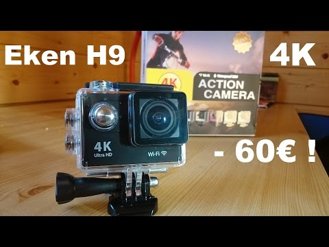 Eken H9 - Caméra sport 4K à -60€ ! UNBOXING - FR