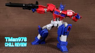 Flame Toys Furai Transformers Model Kit Optimus Prime IDW CHILL REVIEW