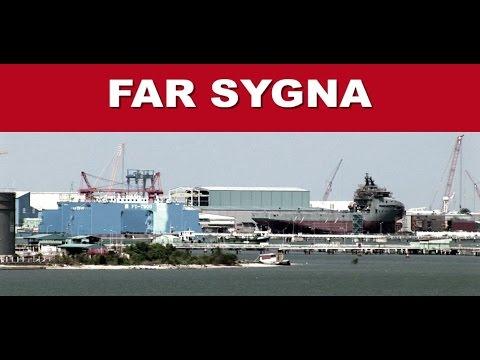 VARD Ship Building - FAR SYGNA / Aerial Trailer