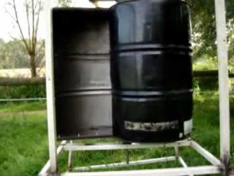 ... Savonius Rotor / VAWT (Vertical Axis Wind Turbine) - YouTube