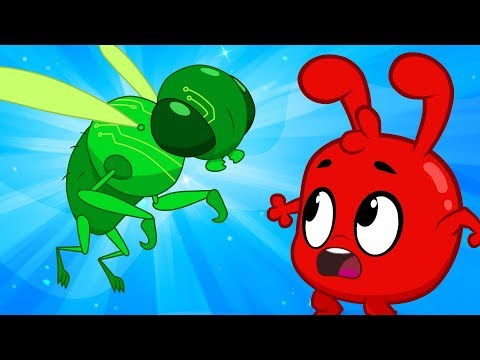 Morphle in the world of video games! Video Game animation for kids!
