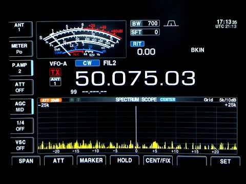 NL7XM Beacon (FN20) Short Hop Sporadic Es (6-29-2009) - HD Format