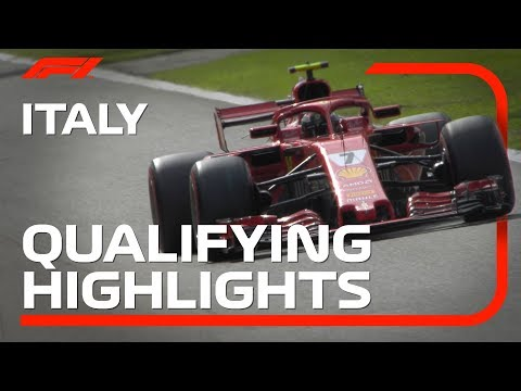 2018 Italian Grand Prix: Qualifying Highlights
