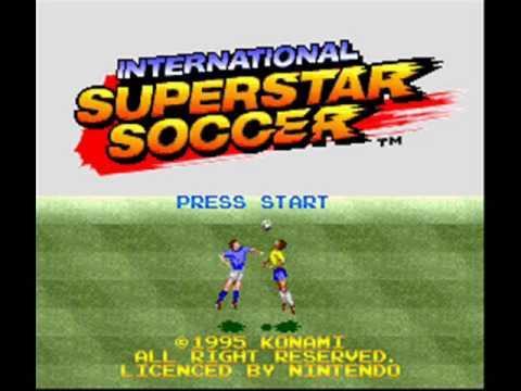 International Superstar Soccer SNES Menu Music