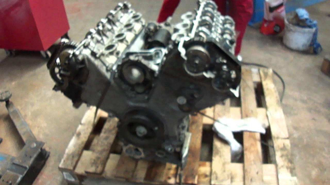 Chain Drive Car Engine